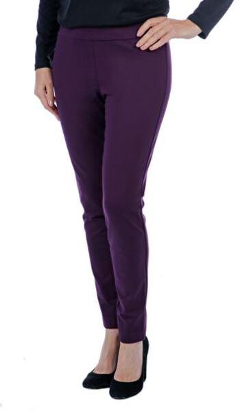 Mr. Max Hollywood Slim Leg Pant, Colour: Plum, Size: Small, Retail: $79.99