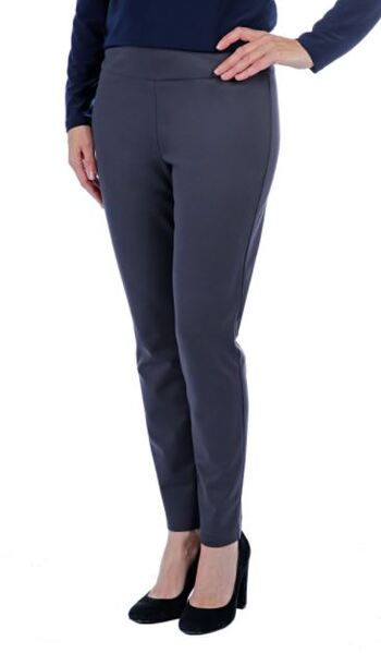 Mr. Max Hollywood Slim Leg Pant, Colour: Grey, Size: 2X, Retail: $79.99
