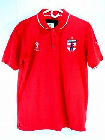 FIFA World Cup Brazil 2014 Mens England T-shirt L