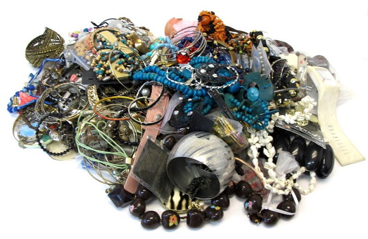 Mountain of Jewelry weighing in at Over 10 pounds