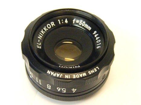 50mm f4 EL-Nikkor Enlarging Lens