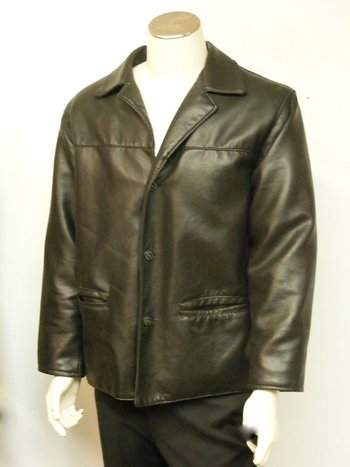 Men's Black Italian Jacket  42