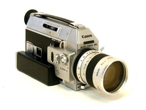 Canon Auto Zoom 814 Movie Camera