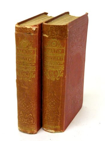 1861  Martin Chuzzlewit - 2 V0l,