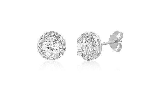 .10 CT Diamond Earrings