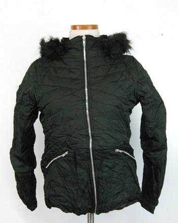 Women's Black Winter Jacket Size S