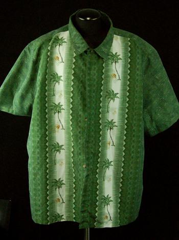 Men's Mountain Ridge Button-Up Shirt Size 4XL