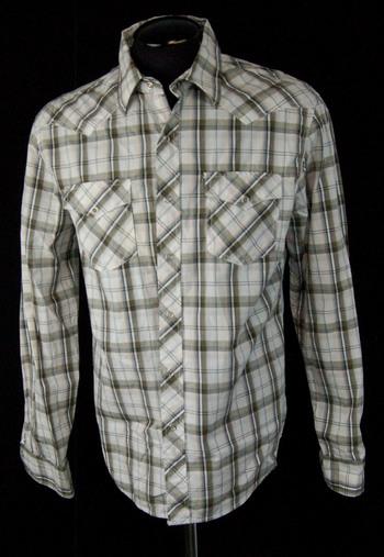 NWT Men's Bluenotes Button-Up Shirt Size M