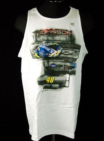 NWT Johnson Racing Tanktop Mens XL