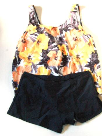 ZAFUL Two Piece Bathing Suit Ladies Size XXL