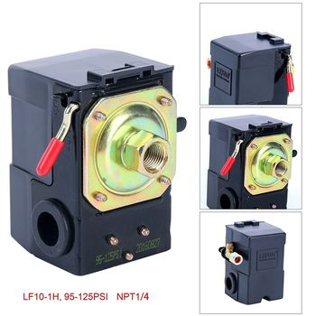 Single Port Air Compressor Pressure Switch Control Valve95-125 PSI w/ Unloader Y