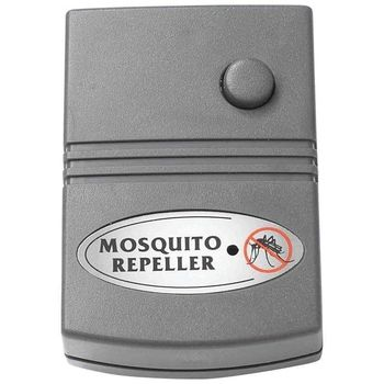 One Portable ELECTRONIC Ultrasonic MOSQUITO REPELLER Pest Control Patio Camping