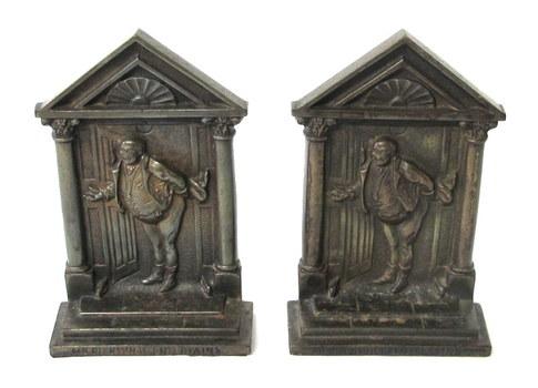 Vintage/Antique Cast Iron Bookends