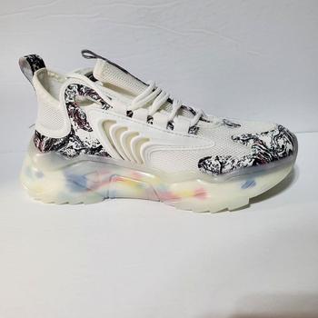 Unisex Kinetic Supernova Running Shoes Ghost White Size EU40