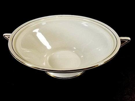 Vintage Burleigh Porcelain Soup Tureen Without Lid