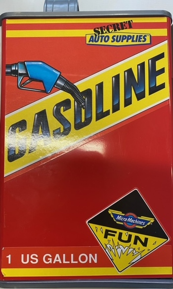 MicroMachines Gasoline Toy 1989(Vintage)
