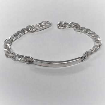 925 Sterling Silver i.d. Bracelet $800.00