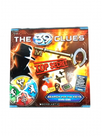 The 39 Clues Board Game Search for the Keys University Games