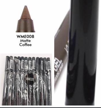 12 Kleancolor Mellow Gel Matte Eye Pencil eyeliner  Matte Coffee New