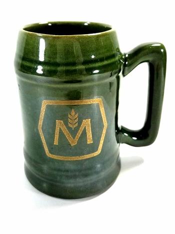 VTG Moslosn Ceramic Beer Mug With Handle
