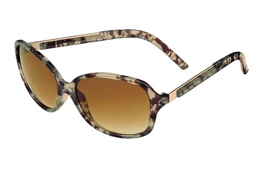 NEW Foster Grant Marble Smoke Luanne Style Sunglasses