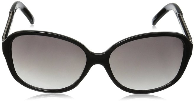 NEW Foster Grant Black Luanne Style Sunglasses