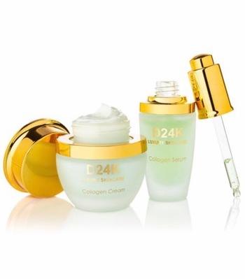 D24K Collagen Renewal Set - Ultimate Collagen Cream /Ultimate Collagen Serum Retail $598