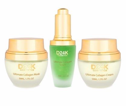 24K Collagen Renewal Set - Ultimate Collagen Cream / Ultimate Collagen Mask / Ultimate Collagen Serum Retail $897