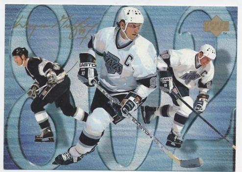 1994-95 UD Upper Deck Wayne Gretzky 802nd GOAL Commemorative Jumbo 5x7 Hockey Card