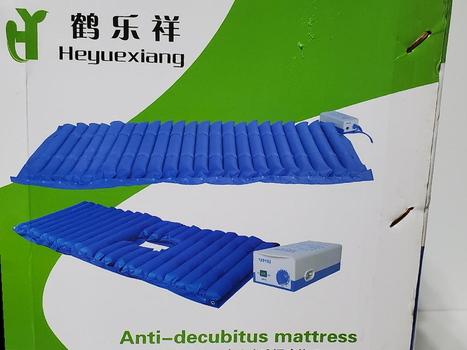 Anti-Decubitus Mattress Striped Blue