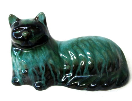 Authentic Blue Mountain Pottery Cat