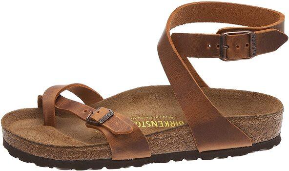 Birkenstock - Yara - Antique Brown Sandal -Size 36 - W5-51/2