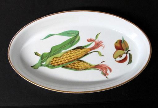 Royal Worcester Evesham Gold Open Oval Serving Dish