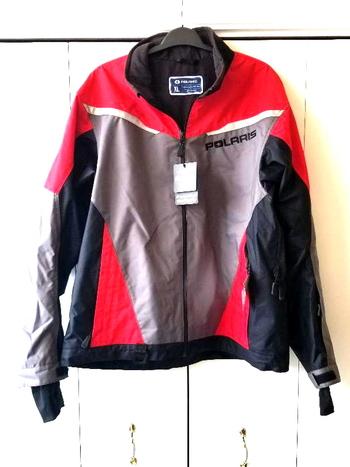 NWT Polaris X-Over Snowmobiel Jacket Red Size XL