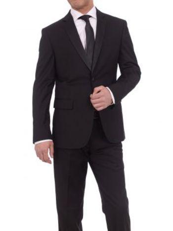 Men's Designer BRAVEMAN 2-Piece Classic Fit Suit - Size 38R/32W - Retail $650.00
