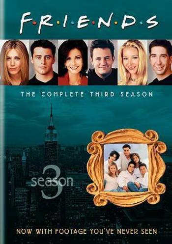 Friends - The Complete Third Season (DVD, 2010, 4-Disc Set)