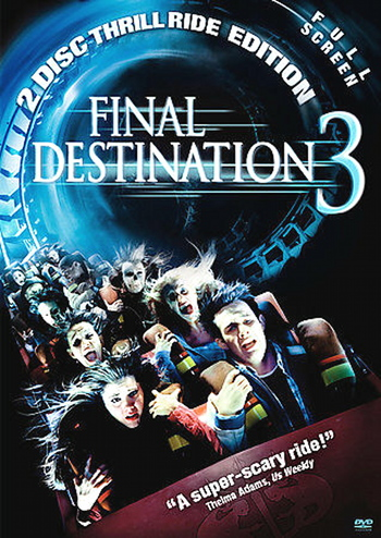 Final Destination 3 (DVD, 2006, 2-Disc Set, Full Frame Special Edition)