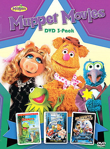 Muppet Movies DVD 3-Pack Set
