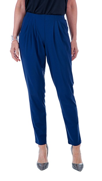 Marla Wynne Ladies Stretch Tech Slouch Pant, Midnight, Small, Retail: $75