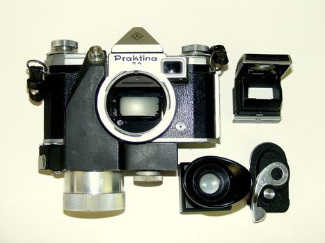 Praktina IIA Camera & Winder