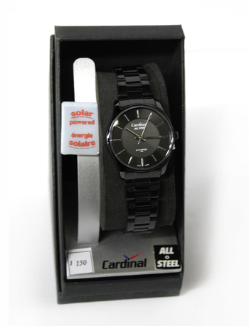 CARDINAL - Women's Solar Powered Watch - Retail $125.00