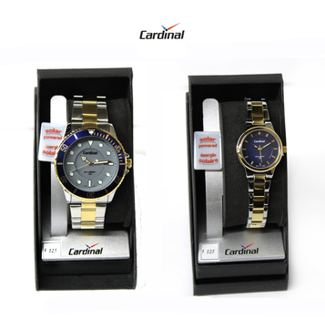 CARDINAL - His and Hers Solar Powered Watches - $250.00 Combined Retail