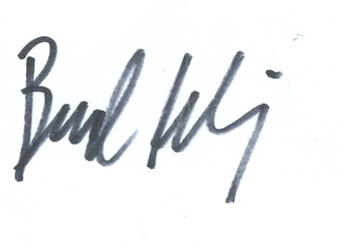 Bud Selig American Commissioner of Baseball Signed Autographed 3x5 Index Card w/coa