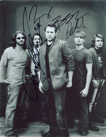 "No Address Rock Band ""When I'm Gone"" Signed Autographed 8x10 Photo w/coa $400 Retail"