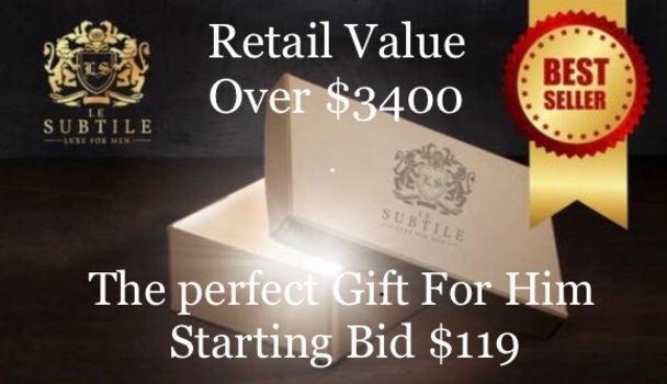 Father's Day Luxury Gift Box Retail Over $3400
