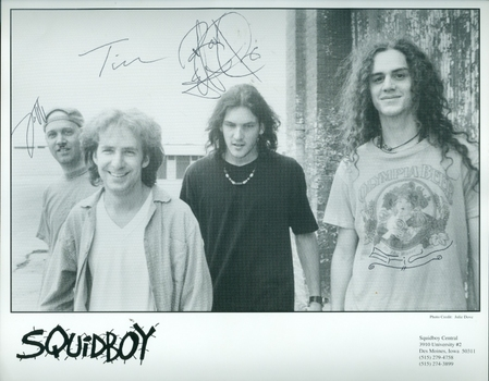 Squidboy American Band 3 Members Signed Autographed 8x10 Photo w/coa $400 Retail