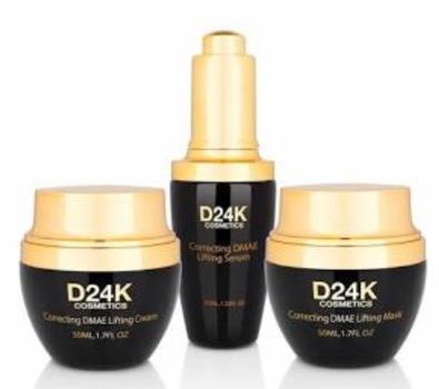 D24K by D'or 24K 24K DMAE Lifting Set - Mask / Cream / Serum D24K Retail $959