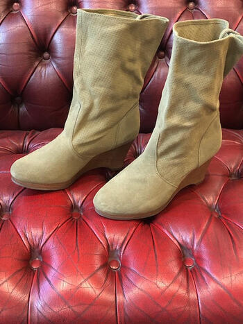 Boots Suede New Women's Boots Size 7.5