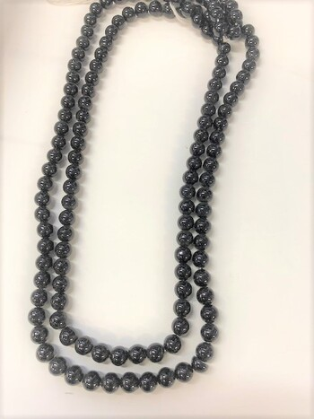 Pearl Faux Pearl 12 Necklace 60 Inch 10mm