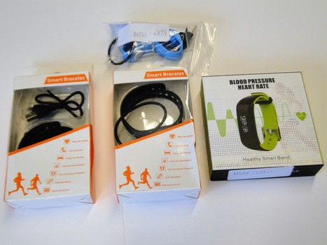 4 Pieces Smart Watch Trackers